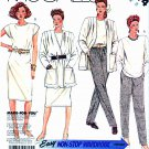 McCall's Sewing Pattern 3414 M3414 Misses' Size 8 Easy Wardrobe Unlined Jacket Top Skirt Pants