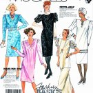 McCall's Sewing Pattern 3444 Misses'  Size 20 Easy Basic Dress Tunic Straight Skirt
