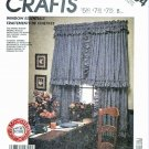 McCall's Sewing Pattern 3464 885 Window Essentials Curtains Drapes Valances Panels