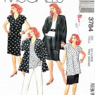 McCall's Sewing Pattern 3784 Half Size 22 ½-24 ½  Easy Wardrobe Jacket Dress Top Skirt Pants