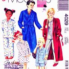 McCalls Sewing Pattern 4029 Boys Girls Size 12-14 Robe Belt Nightshirt Pajamas Pants Shorts