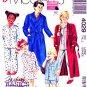 McCalls Sewing Pattern 4029 Boys Girls Size 12-14 Robe Belt Nightshirt Pajamas Pants Shorts