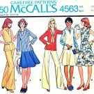 McCalls Sewing Pattern 4563 Womens Size 22W Wardrobe Top Skirt Pants
