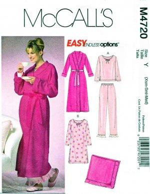 Fleece ROBE Kwik Sew Pattern 3082 Size XS XL   eBay