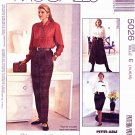 McCalls Sewing Pattern 5026 Misses Size 14-18 Easy Straight Skirt Split-Skirt Culottes Pants