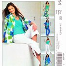McCalls Sewing Pattern 5114 Misses Size 14-20 Wardrobe Shirt-Jacket Top Skirt Pants