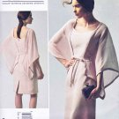 Vogue Sewing Pattern 1330 Misses Size 8-16 Bellville Sassoon Dress Belt Attached Capelet