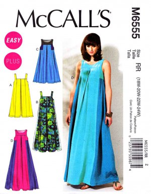 Free easy plus size dress patterns