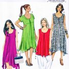 Butterick Sewing Pattern 5655 B5655 Women's Plus Size 18W-24W Easy Pullover Top Dresses Pants