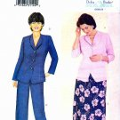 Butterick Sewing Pattern 6479 Womens Plus Size 28W-32W Jacket Flared Skirt Straight Pants