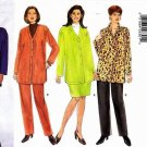 Butterick Sewing Pattern 5211 Womens Plus Size 16W-20W Easy Wardrobe Jacket Tunic Skirt Pants