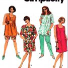 Simplicity Sewing Pattern 7723 Women's Plus Size 18W-24W Summer Wardrobe Dress Top