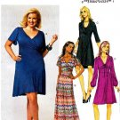 Butterick Sewing Pattern 5794 Womens Plus Size 18W-24W Easy Raised Waist Empire Dress