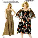 Butterick Sewing Pattern 5761 Womens Plus Size 18W-44W Easy Formal Evening Dress Wrap