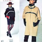Vogue Sewing Pattern 1319 Misses Women's Sizes 10-32W Today's Fit Lined Button Front Coat