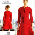 Vogue Sewing Pattern 1317 Misses Sizes 16-24 CHADO Ralph Rucci Fitted Dress
