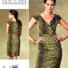 Vogue Sewing Pattern 1206 Misses Sizes 14-20 Easy Kay Unger Fitted Straight Dress
