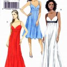 Vogue Sewing Pattern 8475 Misses Sizes 14-22 Easy Empire Waist Formal Dress Back Cut-out
