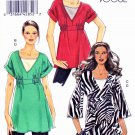 Vogue Sewing Pattern 8580 Misses Sizes 4-14 Easy Knit Pullover Tunic Tank Top