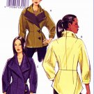 Vogue Sewing Pattern 8627 Misses Sizes 16-22 Lined Button Front Asymetrical Jacket
