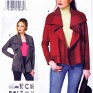 Vogue Sewing Pattern 8839 Misses Sizes 16-26 Easy Marci Tilton Reversible Long Sleeve Jacket