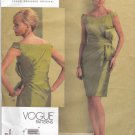 Vogue Sewing Pattern 1108 Misses Sizes 12-18 Bellville Sassoon Sleeveless Formal Dress