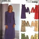 Simplicity Sewing Pattern 5765 Misses Size 16-24 Easy Pullover Empire Dress Jacket Ensembles