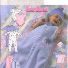 Butterick Sewing Pattern 4213 Baby Infant Size 22-29lbs Bunting Romper Pants Top Hat
