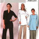 Butterick Sewing Pattern 4240 Misses Size 20-24 Easy Knit Pullover Long Sleeve Tunic Cropped Pants