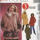 McCall's Sewing Pattern 4229 Womans Plus Size 18W-24W Easy Fleece Unlined Jacket Coat Scarf