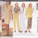 Butterick Sewing Pattern 4938 Misses Sizes 6-8-10 Easy Wardrobe Jacket Top Skirt Pants