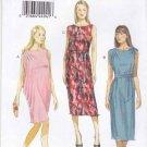 Vogue Sewing Pattern 8898 Misses Sizes 16-26 Easy Pullover Knit Dress Shoulder Details