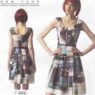 Vogue Sewing Pattern 1353 Misses Sizes 16-24 Easy Kay Unger Pleated Skirt Sleeveless Dress