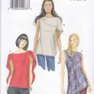 Vogue Sewing Pattern 8907 Misses Sizes 16-26 Easy Pullover Shoulder Drape Tops Tunic