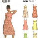 Simplicity Sewing Pattern 5052 Misses Size 4-10 Easy Summer Dress Sundress Halter