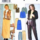 Simplicity Sewing Pattern 7813 Misses Size 12-16 Wardrobe Staples Jacket Skirt Vest Pants