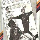"Stretch & Sew Sewing Pattern 5800 Children's Chest Sizes 21-31"" Knit Sweatsuit Shirts Pants"