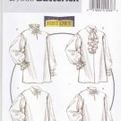 "Butterick Sewing Pattern 5008 Men's Misses Chest Size 46-56"" Pullover Historical Costume Shirt"