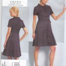 Vogue Sewing Pattern 1107 Misses Sizes 6-12 CHADO Ralph Rucci Dress Belt Seam Details