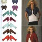 Simplicity Sewing Pattern 2478 Misses Sizes 6-14 Sleeveless Long Sleeve Bolero Shrug Jacket