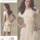 Vogue Sewing Pattern 1209 Misses Size 4-10 Rachel Comey Lined Dress Peplum