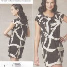 Vogue Sewing Pattern 1217 V1217 Misses Size 6-12 Easy Anna Sui Pullover Loose-Fitting Dress Slip