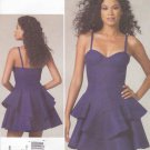 Vogue Sewing Pattern 1227 Misses Size 4-10 Rebecca Taylor Fitted Bodice Flared Skirt Dress