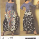 Vogue Sewing Pattern 2971 Misses Size 12-16 Koos Van Den Akker Knit Top Flared Contrast Skirt