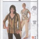 Burda Sewing Pattern 8355 Misses Size 8-22 Easy Pullover T-Shirt Top Long Short Sleeves