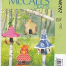 McCall's Sewing Pattern 6767 Variety Fairy Houses Flower Winter Autumn Beach Designs