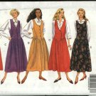 Butterick Sewing Pattern 4982 Misses Size 6-10 Easy Classic Button Front Bodice Jumper