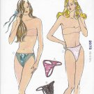 Kwik Sew Sewing Pattern 2075 Misses Size XS-L Knit Thong Bikini Panties Four Styles