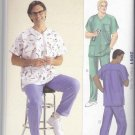 Kwik Sew Sewing Pattern 2861 Mens Sizes S-XXL Men's Scrub Medical Uniforms Top Pants