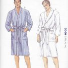"Kwik Sew Sewing Pattern 3000 Men's Sizes S-XXL Chest 34-52"" Men's Front Wrap Robe Tie Belt"